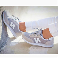 New balance Women Men Casual Running Sport Shoes Sneakers N Gray H-AA-SDDSL-KHZHXMKH