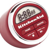KitchenAid Classic Digital Timer (Red)