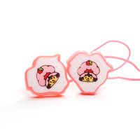 Strawberry Shortcake Hair Elastics Vintage Hair Ties Ponytail Holders
