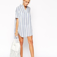 ASOS | ASOS Stripe Beach Shirt at ASOS