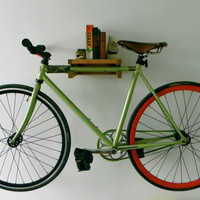 Handmade Bike Shelf by UrbanCityBikeShelves on Etsy