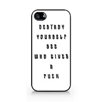 IPC-578 - Destroy Yourself - Luke Hemmings shirt - 5SOS - 5 Seconds of Summer - iPhone 4 / 4S / 5 / 5C / 5S / Samsung Galaxy S3 / S4 / S5