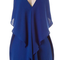 Fire and Ice Dress - Royal Blue