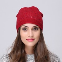 Sports Hat Cap trendy  Andybeatty Brand Bonnet Beanies Knitted Winter Caps Skullies Winter Hats For Women Outdoor Ski Sports Beanie Gorras Touca KO_16_1