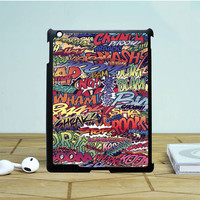 Action Packed Pow Comic Stickerbomb iPad 4 | 5 Case Dewantary