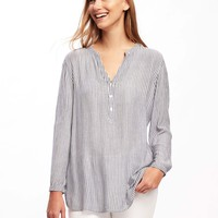 Relaxed Lightweight Tunic for Women | Old Navy
