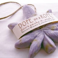 Dope on a Rope Soap - Maui Wowie - Lavender and Orange Essential Oils
