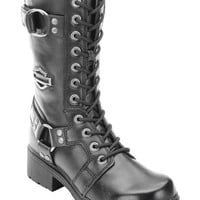 Harley Davidson Women's Eda Lace-Up Harness Boots - Sheplers