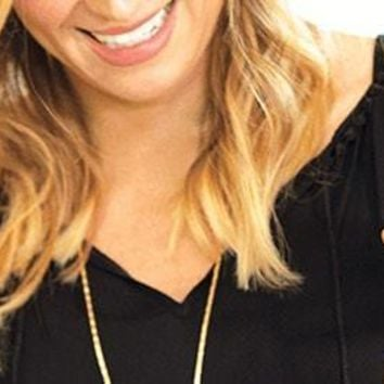 Gold Collar Necklace & Leather Collar Necklace | Stella & Dot