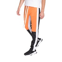 MENS STREET STYLE COLOR BLOCK TRACK PANTS
