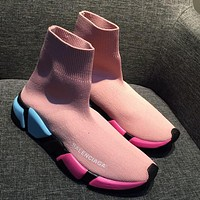 Balenciaga Boots Women Men Fashion Casual Socks Shoes