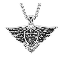 Armor of God Pendant with chain  - Men