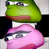 SWEET LORD O'MIGHTY! COUPLE PEPE PILLOW SET