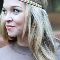 Thin Beaded Headband