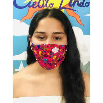 San Antonino Face Mask Pink