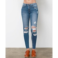 Another Day Another Skinny Jeans - Denim Blue