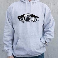 VANS Fashion Long Sleeve Thick Hooded Top Pullover Hoodie Sweater