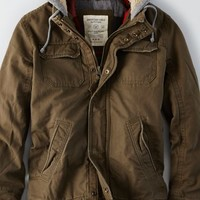 AEO Men's Hooded Workwear Jacket