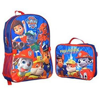 """Paw Patrol """"Doggy Heroes"""" Backpack with Lunchbox - blue/red, one size"""