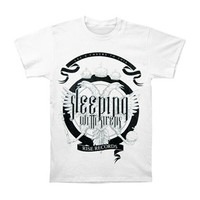 Sleeping With Sirens Men's  Cheers T-shirt White Rockabilia