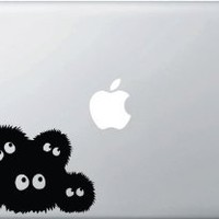 Spirited Away Dust Bunnies (Soot Sprites) - Vinyl Laptop or Macbook Decal