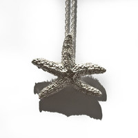 verameat | you're a starfish necklace in brass