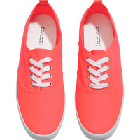 Canvas Sneakers - from H&M