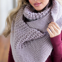 (Cyber Monday) Show Off Infinity Scarf Mauve