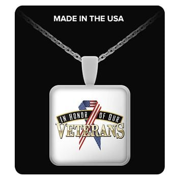 IN HONOR OF OUR VETERANS - NECKLACE