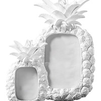 White Pineapple Frame Set