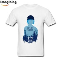 Life Is Strange Custom Man T-shirts  Cotton T-shirt  Short Sleeve Man Top For Boyfriend XL T Shirts