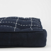 4040 Locust Stitched Grid Floor Pillow - Urban Outfitters