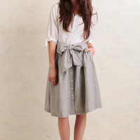 Westerly Striped Skirt