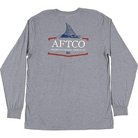 Tall Tail Long Sleeve T-Shirt by AFTCO