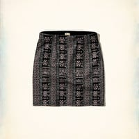 Knit Mini Skirt