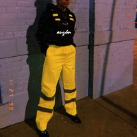Lime 3MM Safety Pants