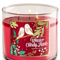 3-Wick Candle Winter Candy Apple