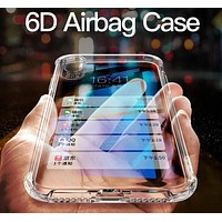 6D Full Protection Transparent Airbag Case for iPhone