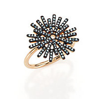 Astley Clarke - Rising Sun Firework Blue Diamond & 14K Yellow Gold Ring - Saks Fifth Avenue Mobile