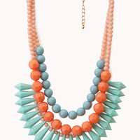 Layered Colorblock Necklace
