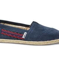 Embroidered Navy Women's Classics