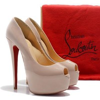 CL Christian Louboutin Fashion Heels Shoes-47