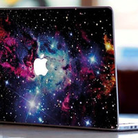 Stickers Macbook Decal Skin Macbook Air Skin Pro Skins Retina Cover Galaxy  Space Hipster SWAG  Picture Christmas Gift New Year ( rm20)