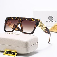Versace new men's and women's sunglasses fashion personality beach driving glasses