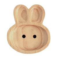 Kids Wooden Plate ~ Rabbit