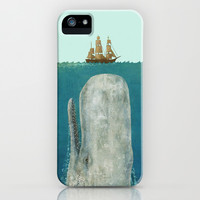 The Whale  iPhone & iPod Case by Terry Fan