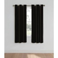 Eclipse Nottingham Thermal Energy-Efficient Grommet Curtain Panel - Walmart.com