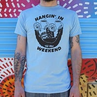 Hangin' For The Weekend Sloth T-Shirt (Mens)