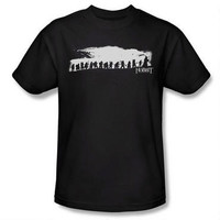 The Hobbit: An Unexpected Journey Silhouette Adult Shirt |