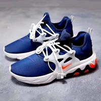 Nike React Presto Tide brand foam machine mesh breathable sports shoes